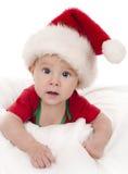 Julen behandla som ett barn Arkivfoton