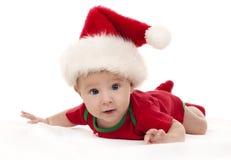 Julen behandla som ett barn Royaltyfri Fotografi