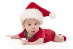 Julen behandla som ett barn Fotografering för Bildbyråer