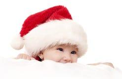 Julen behandla som ett barn Arkivbild