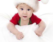 Julen behandla som ett barn Arkivfoto