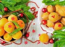 Julen bordlägger Arkivfoto