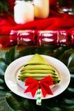 Julen bordlägger Royaltyfri Foto