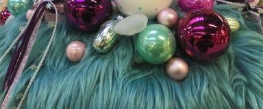 julen dekorerar nya home idéer för garnering till Royaltyfri Fotografi