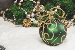 julen dekorerar nya home idéer för garnering till Arkivbild