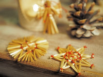 julen dekorerar nya home idéer för garnering till Arkivbilder