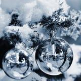 julen dekorerar nya home idéer för garnering till abstrakt bakgrundsjultree Royaltyfri Foto
