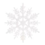 julen dekorerar nya home idéer för garnering till Isolerad vit snowflake arkivbilder
