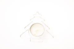 julen dekorerar nya home idéer för garnering till Stearinljus Royaltyfri Foto