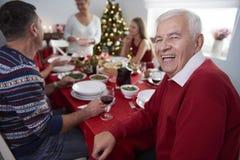 julen dekorerar nya home idéer för matställe till Royaltyfria Bilder