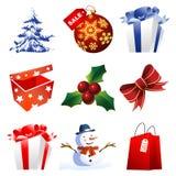 julen detail höga symboler Fotografering för Bildbyråer