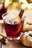 julen dricker mulled wine Royaltyfri Foto