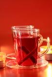 julen dricker varmt Arkivfoton