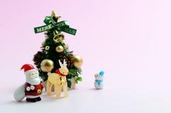 julen föreställde treen Arkivbild