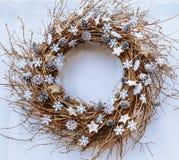 Julen fattar kranen Royaltyfri Bild