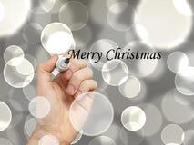 julen hand glatt Royaltyfria Bilder