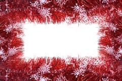 julen inramniner det gjorda fotoredbandet Arkivfoton