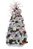 julen isolerade treen Arkivbild