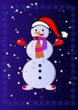 julen kastar snöboll Royaltyfri Fotografi