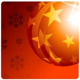 Julen klumpa ihop sig royaltyfri bild