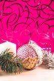 Julen klumpa ihop sig Arkivfoton