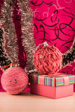 Julen klumpa ihop sig Arkivfoto
