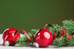 Julen klumpa ihop sig Royaltyfri Foto