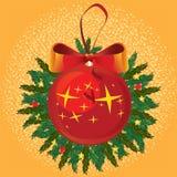 Julen klumpa ihop sig Royaltyfria Bilder