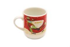 Julen kuper av kaffe Royaltyfria Bilder