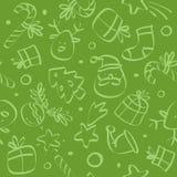 julen mönsan seamless vektor illustrationer