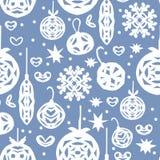 julen mönsan seamless Design för pappers- hantverk royaltyfri illustrationer