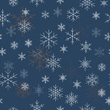 julen mönsan seamless snowflakes bakgrundsbluen kan allt av tänka vad dig stock illustrationer
