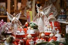 Julen marknadsför royaltyfri fotografi
