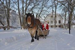 Julen marknadsför Royaltyfria Bilder