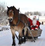 Julen marknadsför Arkivbild