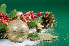Julen och det nya året gränsar Arkivfoton