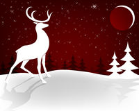 julen planlägger red royaltyfri illustrationer