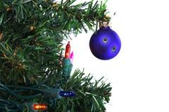 Julen skjutas Fotografering för Bildbyråer