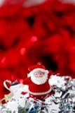 julen smyckar red Arkivbild