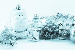 julen stänger nytt övre år för garneringar Royaltyfria Foton