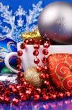 julen stänger upp livstid fortfarande Royaltyfri Foto
