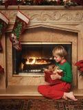julen stänger upp niko s Arkivbild