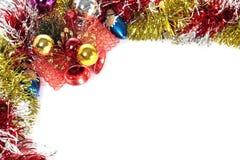 Julen tränga någon Arkivbild