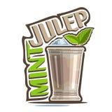 Julep en bon état de cocktail illustration stock