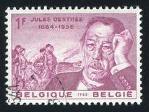 Jules Destree obraz royalty free