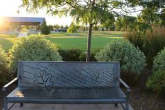 Jules M Kleiner Memorial Park Photos stock
