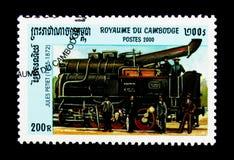 Jules Petiet 1845-1872, lokomotivserie, circa 2000 Royaltyfria Foton