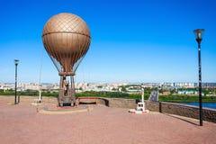 Jules Verne Monument Royaltyfria Foton