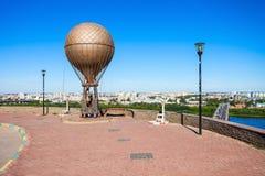 Jules Verne Monument Fotografering för Bildbyråer