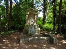 Jules Verne ` s grobowiec zdjęcie stock